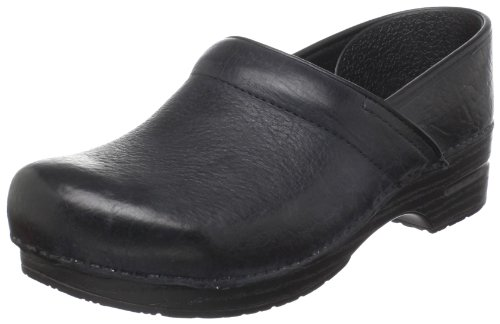 Dansko Men's Narrow Professional Clog,Black Oiled,45 M EU (11.5-12 M US) (Soho Leather Black)