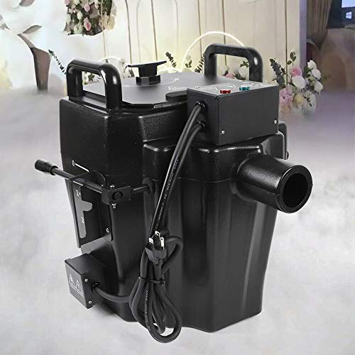 Commercial 10L 3500w Dry Ice Low Lying Fog/Smoke Machine Fog Effect+3m Diversion tube Bar DMX Stage Party Fogger Ground Smoke Maker USA STOCK