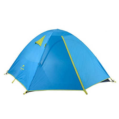 Naturehike 3 Person Camping Tent Outdoor Family Tent Double Layer Waterproof Tent