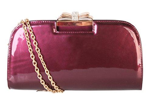 rimen-co-ladies-fashion-pu-patent-leather-lovely-crossbody-evening-clutch-bag-handbag-lp-2841-plum