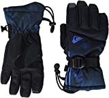 Quiksilver Big Boys' Mission Youth Glove Tech Snow Golve, Daphne Blue Stellar, M
