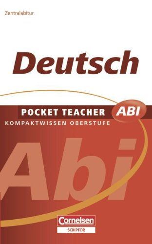 Pocket Teacher Abi - Sekundarstufe II: Deutsch