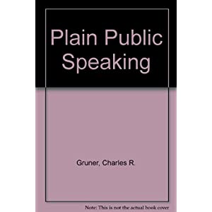 Plain Public Speaking