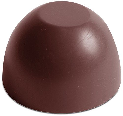 Chocolate World Flat Top Dome Chocolate Mold, 21 Forms