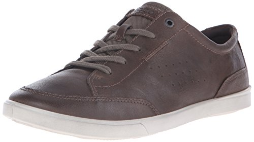 ECCO Men's Collin Classic Tie Fashion Sneaker, Dark Clay, 46 EU/12-12.5 M US