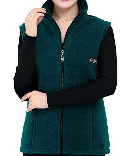 Zip Front Fleece Vest - 7