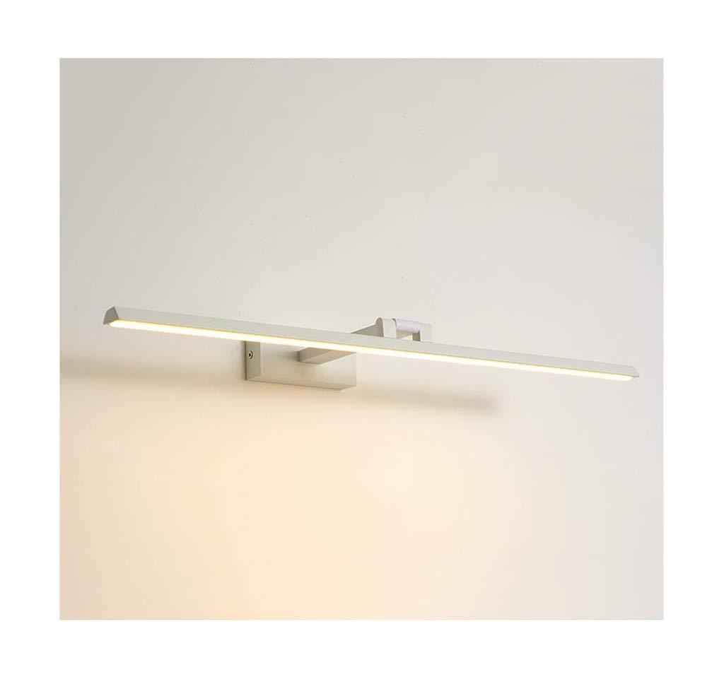 &Spiegelleuchte Spiegel Frontleuchte LED Moderne Einfachheit Multifunktions Badezimmer Wandleuchte (Farbe   Warmes Licht-16W 80cm)