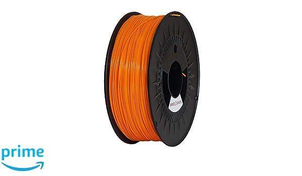 Make a Shape - Filamento PLA naranja para impresoras 3D 1,75 mm ...