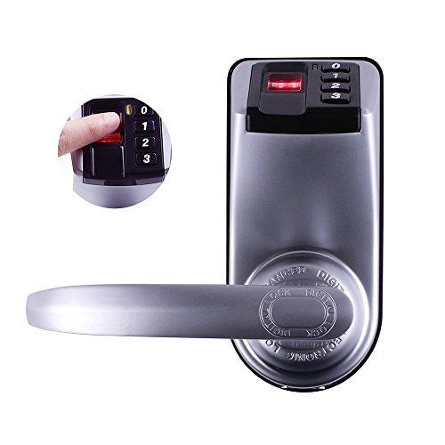 Adel 3398 Keyless Biometric Fingerprint Door Lock Trinity