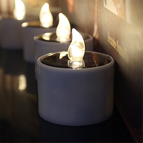 Solar Led Candle Lamp