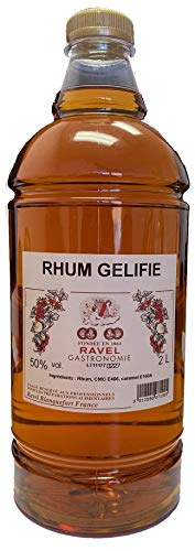 Rhum Negrita Pastry Liqueur, Gelified (Only for Baking- Not Drinking)