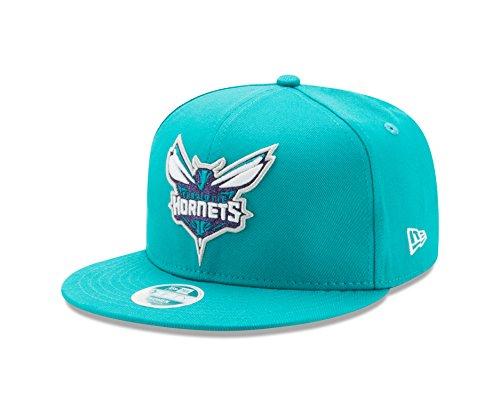 New Era NBA Charlotte Hornets Women's Team Glisten Snap 9FIFTY Cap, One Size, (Hornets Snap)