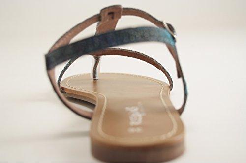 Reqins - Zapatos de vestir para mujer BLEU CURACAO