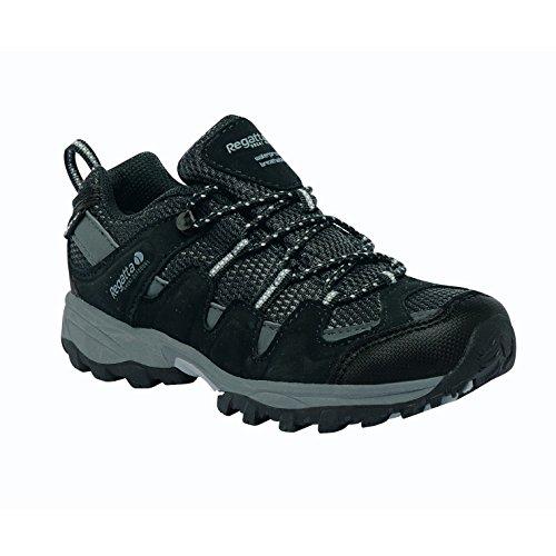 Regatta Garsdale Low JNR-2M,–joven de senderismo & Senderismo Zapatos Stahl/Tulpe
