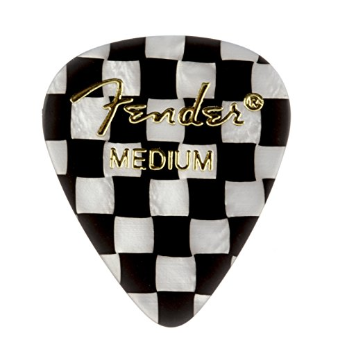 - Fender 351 Shape Graphic Picks (12 Pack) for electric guitar, acoustic guitar, mandolin, and bass