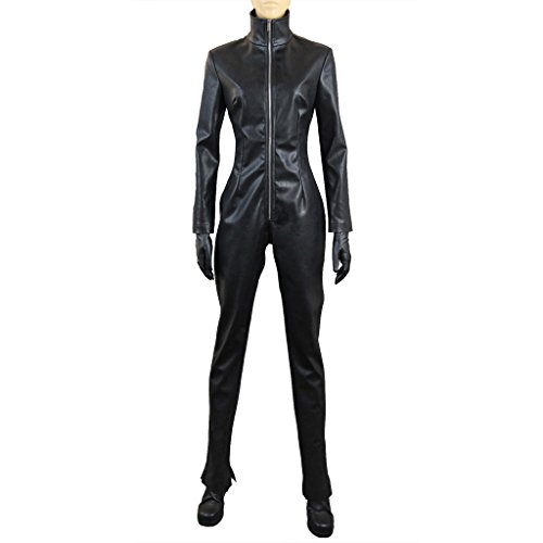 Celty Sturluson Cosplay Costume (Mtxc Women's Durarara!! Cosplay Celty Sturluson Jumpsuit Size Medium Black)