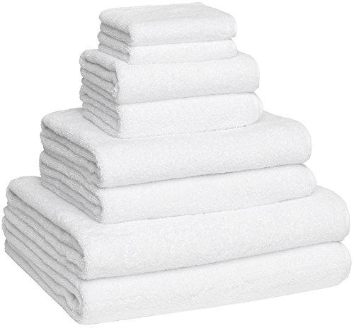 Luxury Extra Large 8-Piece Turkish Towel Set with 4 Bath Towels (30x60 and 24X48) - White