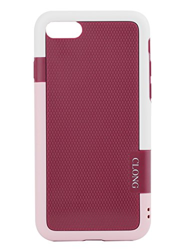 iPhone 7 Case,iPhone 8 Case,CLONG iPhone 7 8 Flexible Durable Shock-Absorption Protective Case Ultra Impact 3 Color Bumper Cover Slim Hybrid TPU & PC Cases for Apple iPhone 7/8 4.7