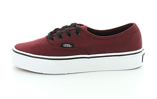 Vans Authentic Classic Sneaker Skate Canvas Skaterschuhe Port Royale Red/Black GhYYz