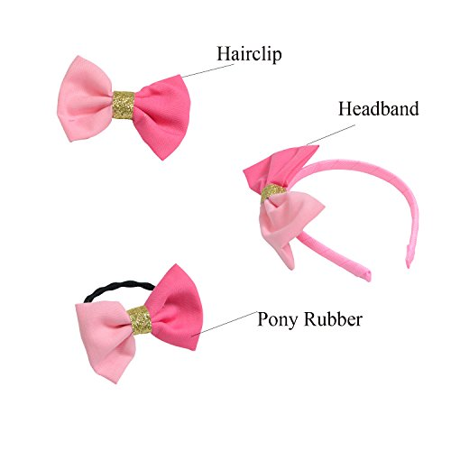 Set of 3 Hair Accessories for Dolls