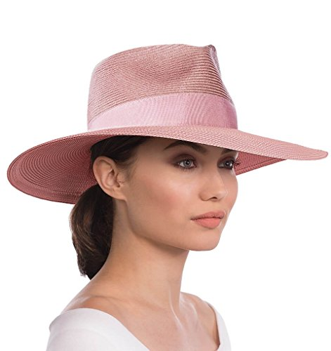 Eric Javits Luxury Fashion Designer Women's Headwear Hat - Daphne - Blush by Eric Javits
