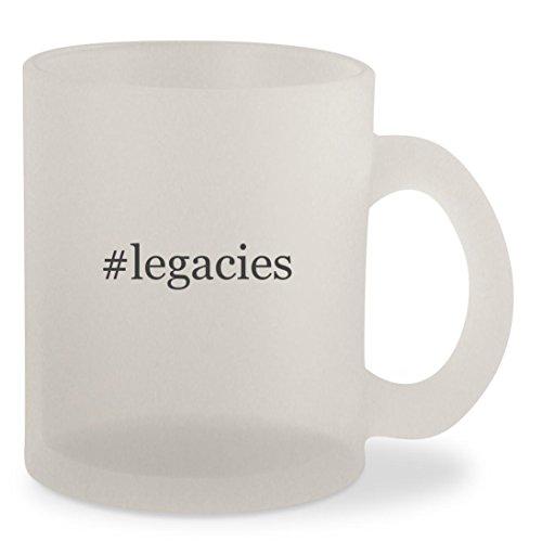 #legacies - Hashtag Frosted 10oz Glass Coffee Cup Mug