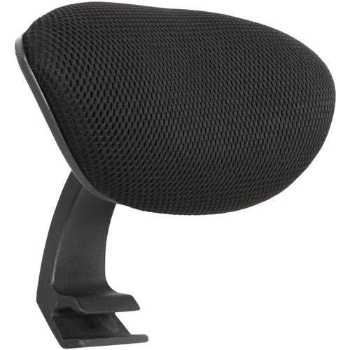 Lorell 86000 Executive Mesh - Lorell Mid-Back Chair Mesh Headrest, Black