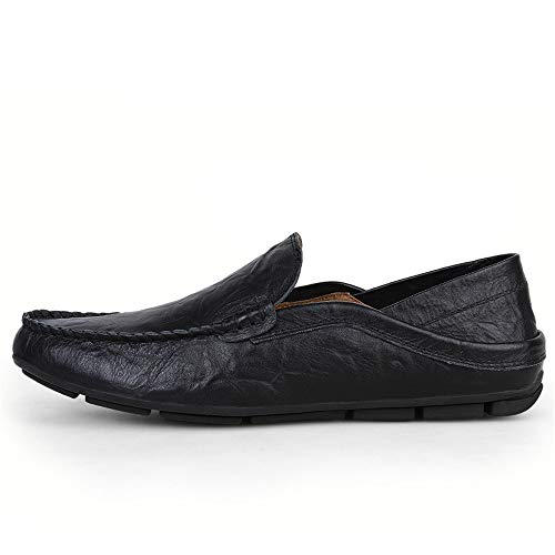 vera e Zgsjbmh 5 nbsp;cm 5 guida on scarpe unico 22 comfort 28 gommino design leggero nero morbido 6 mocassini taglia mocassino nbsp;cm Penny pelle uomo slip mocassini moccasin n5wRwHYqrB