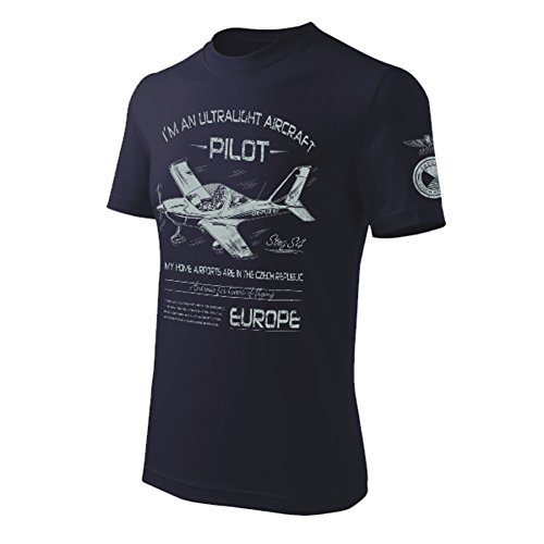 T-Shirt Ultralight-Flugzeug STING S-4