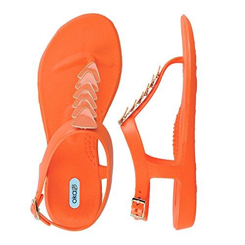 Nelly Enamel w Oka Orange Triangle Guava Strand B w5HCCnqS