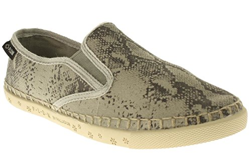 Snake Bora Palson Da Donna light Espadrillas Grey 0IFqFng