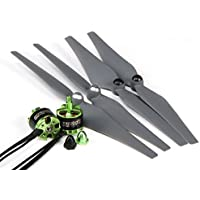 MultiStar 350 to 450 Frame Size 2212 Combo Set With Self-Tightening Propellers CW/CCW
