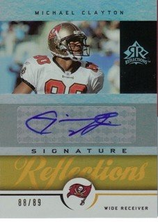 - 2005 Reflections Signature Reflections Gold #SRMC Michael Clayton AUTO /89