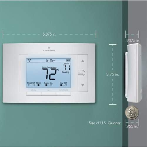 White rodgers emerson sensi wi fi thermostat for Emerson sensi
