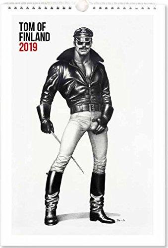 Tom of Finland Wall Calendar 2019 23x34 cm Putinki Finland