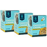 Zac Brown's Remedy Bake Shop Gluten-Free Cookies, non-GMO, Vegan, Dairy-Free, Soy-Free, Nut-Free, and Egg-Free (5 count box, Chocolate Chunk 3 Pack)