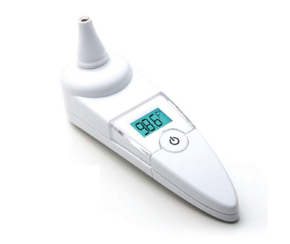 ADC Infrared Tympanic Ear Thermometer with Storage Case, Adtemp 421