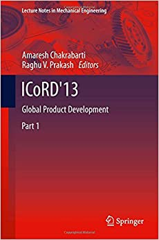 Book ICoRD'13: Global Product Development (Lecture Notes in Mechanical Engineering)