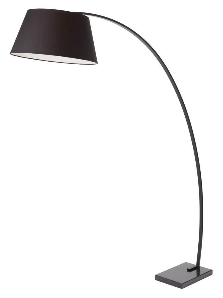 Evan Floor Lamp in Black