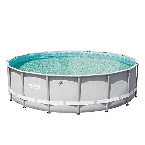 Bestway 13429 Power Steel Swimming Pool, 16' x 48