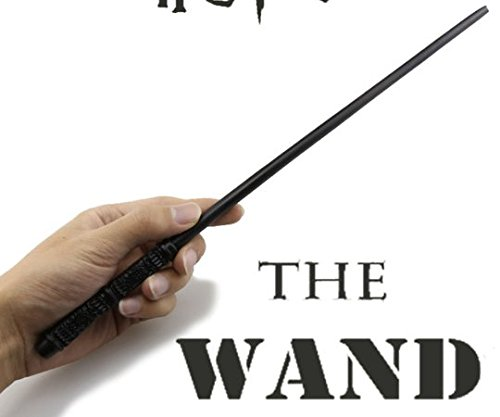 1 Piece Black Severus Snape Metal Core Wand, Harry Potter Theme Magic Stick School of Witchcraft and Wizardry Themed Magical Staff Wizard Witch Fantasy Spells Cosplay Kids Toy J.K Rowling, Iron
