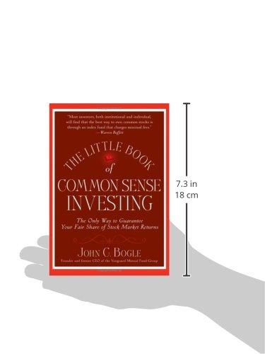 The little book of common sense investing the only way to guarantee the little book of common sense investing the only way to guarantee your fair share of stock market returns livros na amazon brasil 9780470102107 fandeluxe Gallery