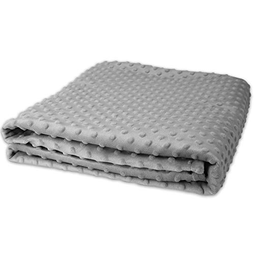 Cheap MAXIJIN Minky Duvet Cover for Weighted Blanket 60