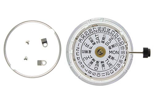 Eta Watch Parts - New Genuine ETA 2836-2 Watch Movement 25 Jewel Automatic Day Date Silver Swiss