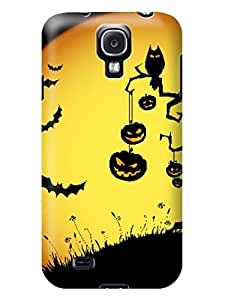 2014 New Style Halloween Hot Selling fashionable TPU for Samsung Galaxy s4 Waterproof Shockproof Case Cover