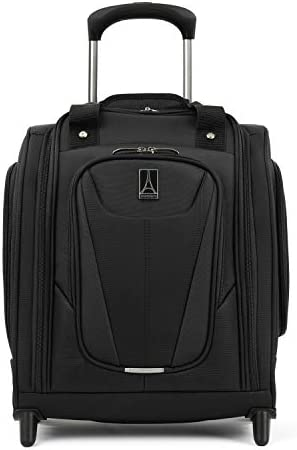 Travelpro Maxlite 5-Rolling Underseat Compact Carry-On Bag, Black, 15-Inch