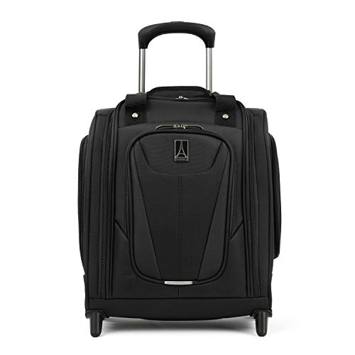 Travelpro Luggage Maxlite 5 15' Lightweight Carry-on Rolling Under Seat Bag, Black