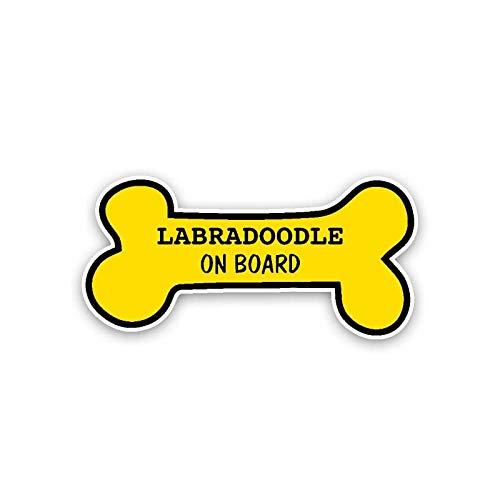 SaveStore 14.8CM7CM Labradoodle ON Board PVC Decal Funny Car Sticker