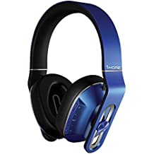 1MORE Wireless Over-Ear Headphones Bluetooth Comfortable Earphones with Bass Control, Durable Headband, Noise Cancellation Mic and in-Line Remote Controls Smartphones/PC/Tablet