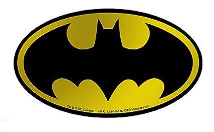 amazon com licenses products dc comics batman logo gold foil